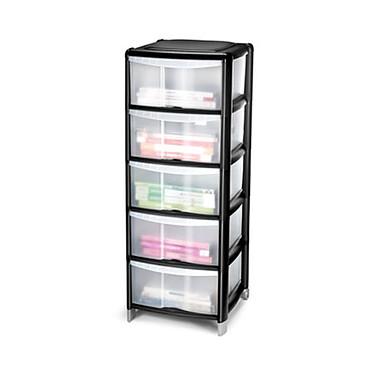 CEP Strata tour 5 tiroirs Tour de rangement de 5 tiroirs pour format 24 x 32 cm