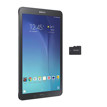 "Samsung Galaxy Tab E 9.6"" SM-T560 8 Go Noir + MicroSDHC 16 Go"