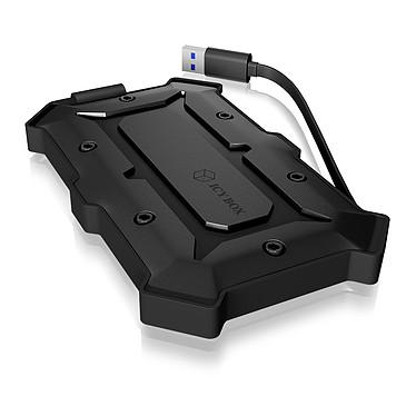 """ICY BOX IB-276U3 Boîtier étanche pour disque dur 2.5"""" Serial ATA sur port USB 3.0"""