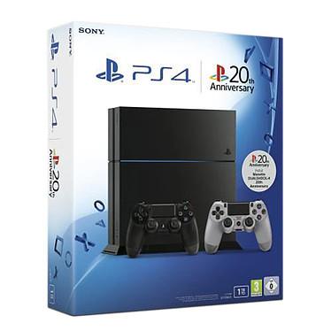 Sony PlayStation 4 20th Anniversary - Limited Edition Console de jeux-vidéo nouvelle génération avec disque dur 1 To + 2e DualShock 4