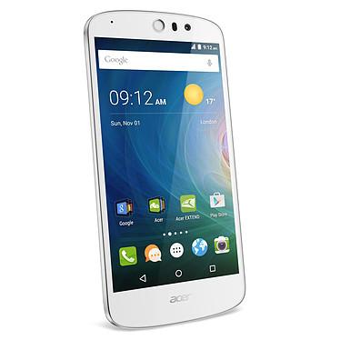 "Acer Liquid Z530 Blanc Smartphone 4G-LTE Dual SIM - ARM Cortex A53 Quad-Core 1.3 GHz - RAM 1 Go - Ecran tactile 5"" 720 x 1280 - 8 Go - Bluetooth 4.0 - 2420 mAh - Android 5.1"