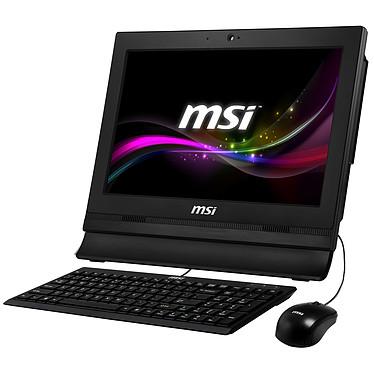 """MSI Wind Top AP1622ET-028XEU Noir Intel Celeron 1037U 4 Go 500 Go LED 15.6"""" Tactile Wi-Fi N Webcam (Garantie constructeur 2 ans enlèvement sur site)"""