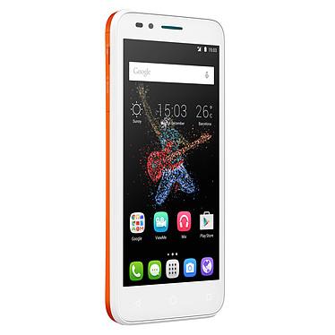 "Alcatel Go Play Orange Smartphone 4G-LTE Dual SIM IP67 - Snapdragon 410 Quad-Core 1.2 GHz - RAM 1 Go - Ecran tactile 5"" 720 x 1280 - 8 Go - Bluetooth 4.0 - 2500 mAh - Android 5.0"