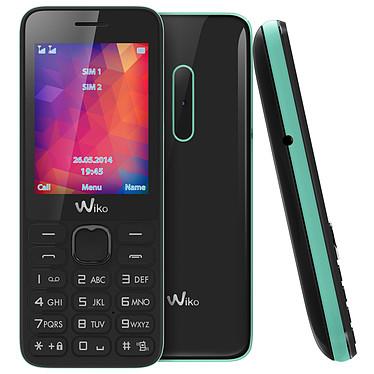 "Wiko Riff 2 Noir/Menthe Téléphone 2G Dual SIM - Ecran 2.4"" 240 x 320 - Bluetooth 2.1 - 800 mAh"