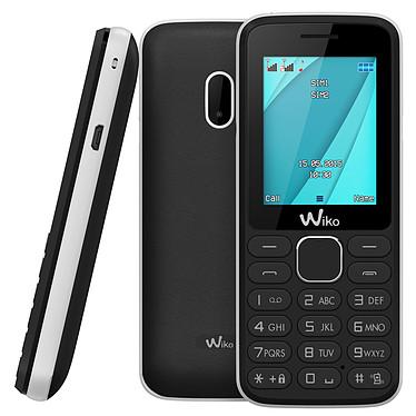 "Wiko Lubi 4 Noir/Blanc Téléphone 2G Dual SIM - Ecran 1.77"" 128 x 160 - Bluetooth 2.1 - 800 mAh"