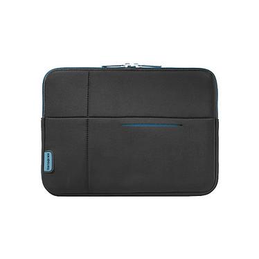 """Samsonite Airglow Sleeve 10.2"""" (coloris noir/bleu) Housse pour netbook et tablette (jusqu'à 10.2'')"""