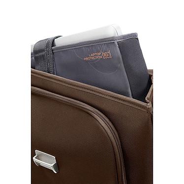 "Acheter Samsonite X'Blade Business 2.0 Briefcase 3 soufflets 16"" (coloris marron)"