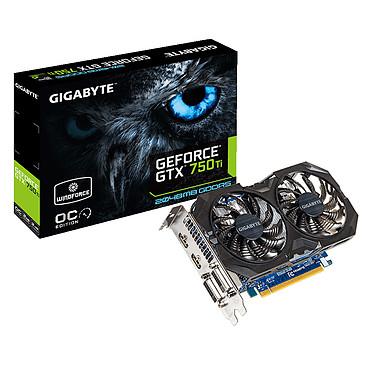 Gigabyte Gv-N75TOC2-2GI - GeForce GTX 750 Ti 2 Go  2048 Mo Dual DVI/Dual HDMI - PCI Express (NVIDIA GeForce avec CUDA GTX 750 Ti)
