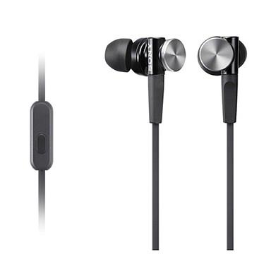 Sony MDR-XB70AP Noir Écouteurs intra-auriculaires avec télécommande et micro