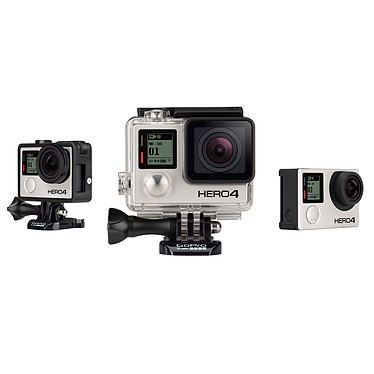 Acheter GoPro HERO 4 : Black Edition + Battery