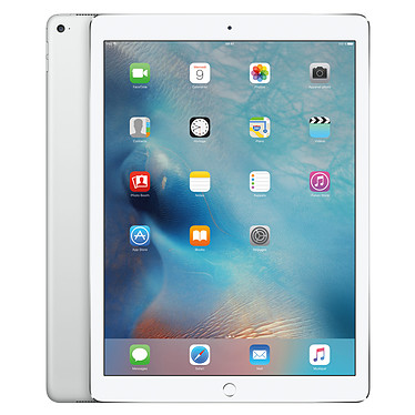"Apple iPad Pro 128 Go Wi-Fi Argent Tablette Internet - Apple A9X 64 bits 4 Go SSD 128 Go 12.9"" LED tactile Wi-Fi AC / Bluetooth Webcam iOS 9"