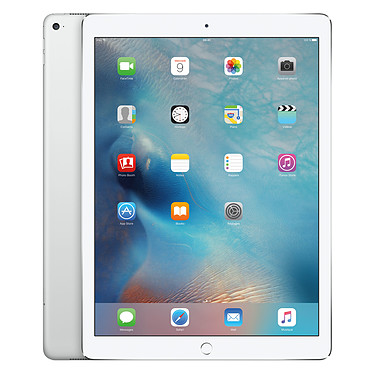 "Apple iPad Pro 128 Go Wi-Fi + Cellular Argent Tablette Internet 4G-LTE - Apple A9X 64 bits 4 Go SSD 128 Go 12.9"" LED tactile Wi-Fi AC / Bluetooth Webcam iOS 9"