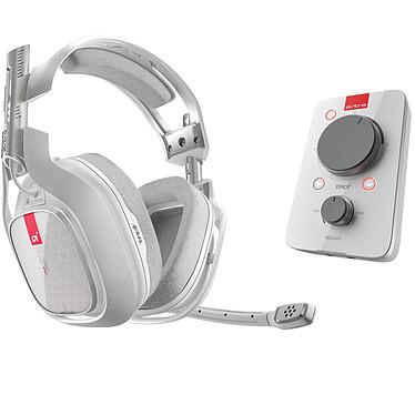 Astro A40 TR + MixAmp Pro TR (blanc) Casque-micro avec carte son USB Dolby Digital 7.1 (Xbox One/Mac/PC)