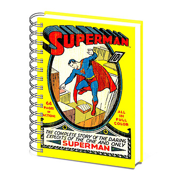 Cahier A5 Superman Cahier 180 pages A5 210 x 148 mm