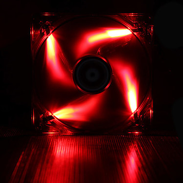 Avis BitFenix Spectre LED PWM 140mm - Rouge