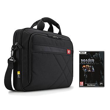 Case Logic DLC-117 + Mass Effect : Trilogy OFFERT ! Sacoche pour ordinateur portable (jusqu'à 17.3'') et tablette (jusqu'à 10.1'') + Jeu Mass Effect : Trilogy (PC)