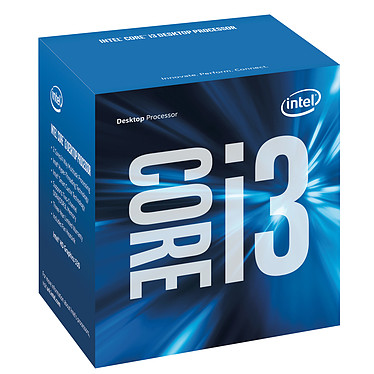 Intel Core i3-6100T (3.2 GHz) Processeur Dual Core Socket 1151 Cache L3 3 Mo Intel HD Graphics 530 0.014 micron (version boîte - garantie Intel 3 ans)