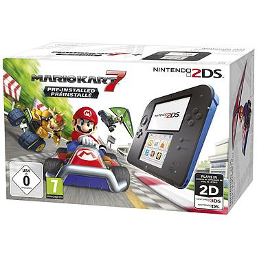 Nintendo 2DS Noir / Bleu + Mario Kart 7