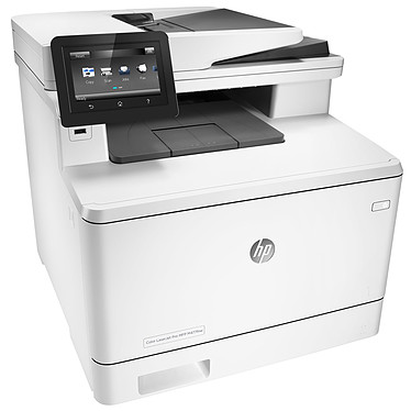 HP Color LaserJet Pro MFP M477fnw Imprimante multifonction laser 4-en-1 couleur recto/verso manuel (USB 2.0/Ethernet/Wi-fi)