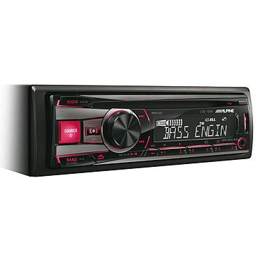 Alpine CDE-192R Autoradio CD/MP3 avec port USB & iPod et entrée auxiliaire