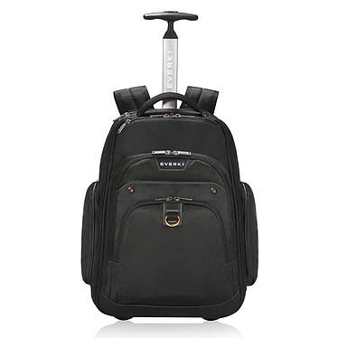 """Everki Atlas Trolley 17.3"""" Sac à dos à roulettes avec système de protection anti RFID pour ordinateur portable (jusqu'à 17.3'') et tablette"""