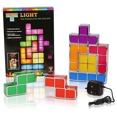Tetris - Lampe d'ambiance modulable 7 pièces pas cher