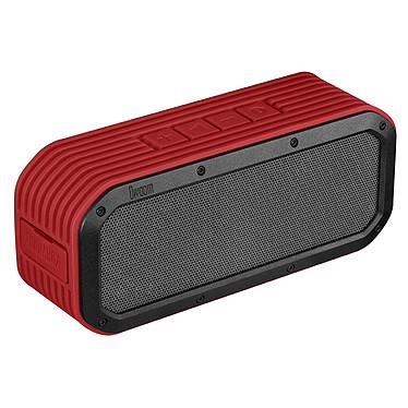 Divoom Voombox Outdoor Rouge Enceinte portable étanche Bluetooth et NFC avec micro intégré pour tablette/smartphone