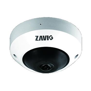 ZAVIO P4320 Caméra réseau à dôme fixe avec vue panoramique à 360° 4 mp intérieur & jour/nuit (Ethernet)
