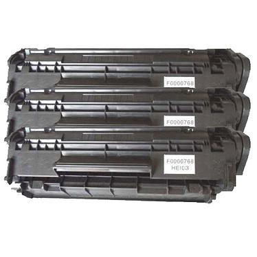 Multipack toners compatibles HP Q2612A / Canon EP-703 (noir)