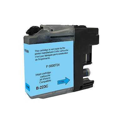 Cartouche compatible Brother LC223C (Cyan)