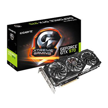 Gigabyte GV-N970XTREME-4GD - GeForce GTX 970 4 GB 4096 Mo DVI/HDMI/Tri DisplayPort - PCI Express (NVIDIA GeForce avec CUDA GTX 970)