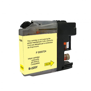 Cartouche compatible Brother LC225XLY (Jaune)