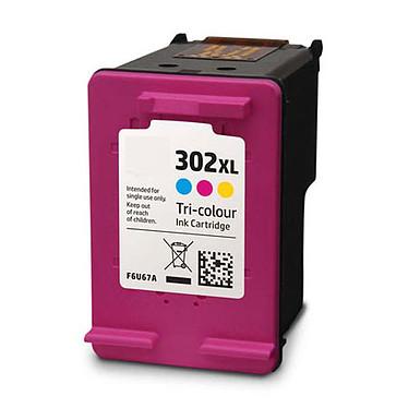 Cartouche compatible HP 302XL (Couleur) Cartouche d'encre couleur (Cyan, magenta, jaune) compatible HP 302XL (330 pages)