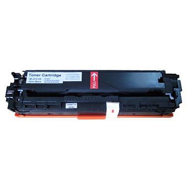 Toner compatible HP 131A / Canon 731 BK (noir) Toner noir compatible HP CF210X et Canon 731 BK (2400 pages à 5%)
