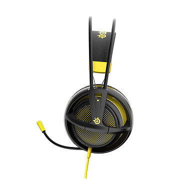 Acheter SteelSeries Siberia 200 (Proton Yellow) + Striped Beanie OFFERT !