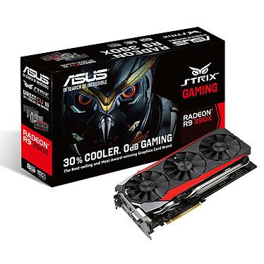ASUS Radeon R9 390X STRIX-R9390X-DC3-8GD5-GAMING 8 Go DVI/HDMI/Tri-DisplayPort - PCI Express (AMD Radeon R9 390X)