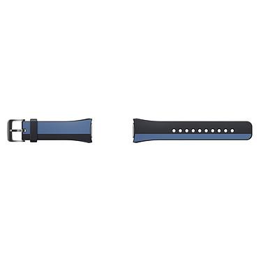 Avis Samsung Bracelet Gear S2 M Bleu/Noir