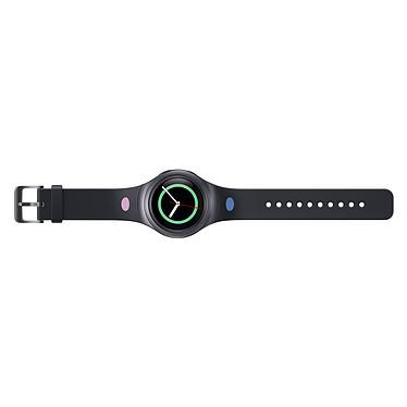 Samsung Bracelet Gear S2 M Design Noir Bracelet souple de taille M pour Samsung Gear S2