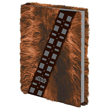 Cahier Premium A5 Chewbacca Fourrure