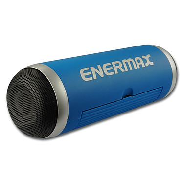 Enermax EAS01 Bleu Enceinte portable Bluetooth NFC avec micro et support tablette intégrés, carte microSD et entrée AUX