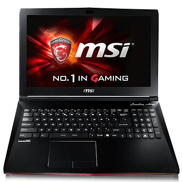"MSI GP62 6QE-806XFR Leopard Pro Intel Core i5-6300HQ 8 Go 1 To 15.6"" LED Full HD NVIDIA GeForce GTX 950M Graveur DVD Wi-Fi AC/Bluetooth Webcam FreeDOS (garantie constructeur 2 ans)"