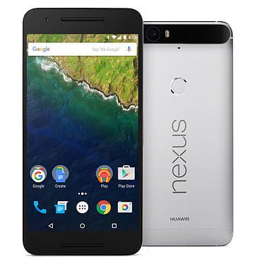 """Huawei Nexus 6P Argent 32 Go Smartphone 4G-LTE Advanced avec écran tactile WQHD 5.7"""" sous Android 6.0"""