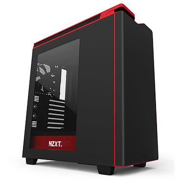 NZXT H440 (noir/rouge) Boîtier moyen tour avec fenêtre latérale