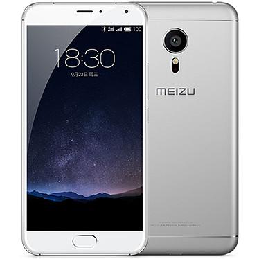 """Meizu Pro 5 32 Go Argent/Blanc Smartphone 4G-LTE Dual SIM avec écran tactile Full HD 5.7"""" sous Android 5.1"""