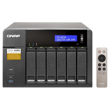 QNAP TS-653A-4G Servidor NAS 6 ranuras con 4 GB de RAM (sin disco duro)