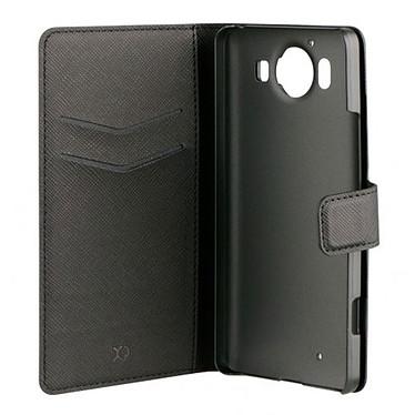 xqisit Etui Folio Wallet Viskan Noir Microsoft Lumia 950