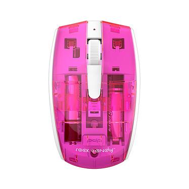 PDP Rock Candy Wireless Mouse (rose) Souris sans fil - ambidextre - capteur optique - 3 boutons