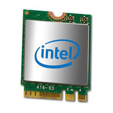 Intel Dual Band Wireless-AC 7265 Carte M.2 2230 Dual Band sans fil Wi-Fi 802.11 ac 867 Mbps + Bluetooth 4.0