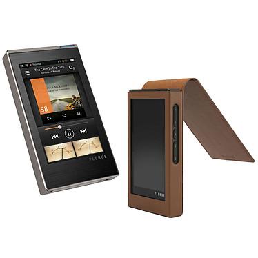 Cowon Plenue 1 Silver + Étui cuir OFFERT ! Lecteur audio HD 128 Go + Étui en cuir haute qualité offert