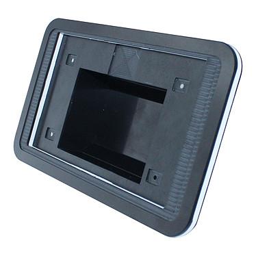 """Multicomp CBRPP-TS-BLK/WHT Boitier pour écran tactile 7"""" Raspberry avec carte mère Pi B+ ou Pi 2"""